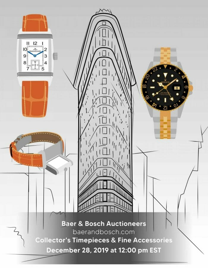 Collector's Timepieces & Fine Accessories