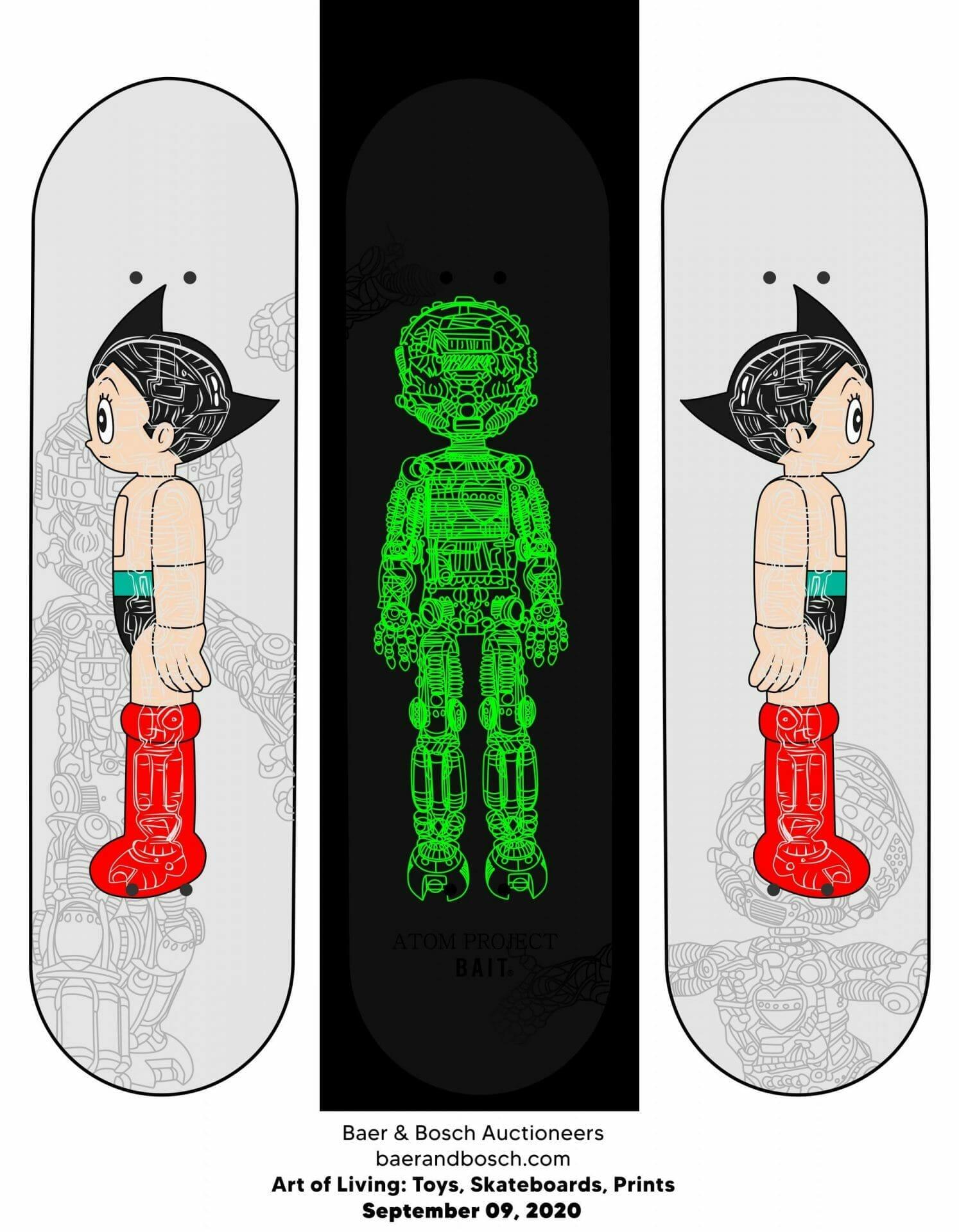 Art-of-Living-Toys, Skateboards, Prints
